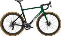 Specialized S-works Tarmac Sl7 Sram Red Etap Axs Road Bike  2021 54 - Green Tint Fade over Spectraflair/Chrome