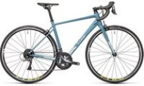 """Cube Axial WS Road Bike 2021 - Greyblue - Lime - 53.5cm (21"""")"""