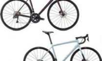 Specialized Aethos Expert Road Bike  2021 61cm - Satin Red Tint/Dream Silver
