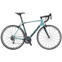 Bianchi Infinito CV Ultegra 2018 Road Bike   Green - 55cm