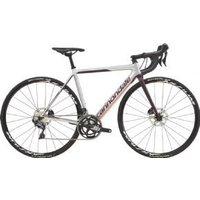 Cannondale Women`s Supersix Evo Carbon Ultegra Disc Road Bike 2019 52cm - Silver