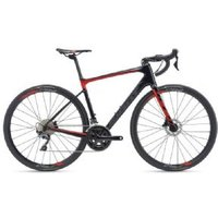 Giant Defy Advanced 1 Road Bike  2019 L - Carbon/ Red