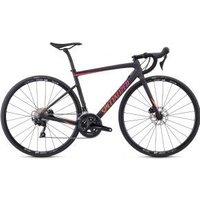 Specialized Tarmac Sl6 Disc Sport Carbon Womens Road Bike  2019 44cm - Satin Carbon/Gloss Acid Purple-Acid Lava