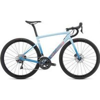 Specialized Tarmac Sl6 Expert Disc Carbon Womens Road Bike  2019 56cm - Gloss Storm Grey/Ice Blue/Acid Lava